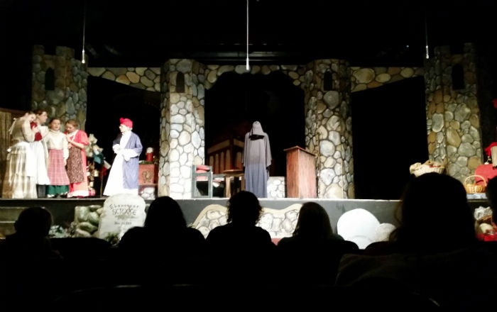 Theater review a charlie brown playhouse presents a for 13 a table theatre saint georges