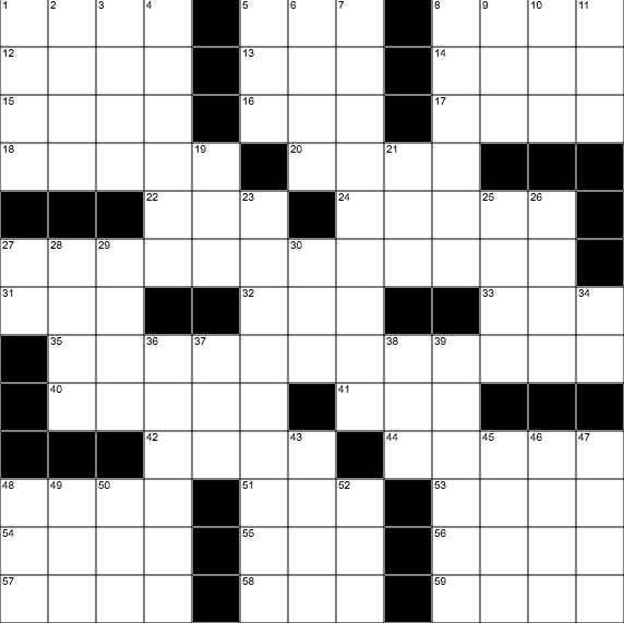 Free Daily Crossword | Online Crossword | Interactive Crossword Puzzle