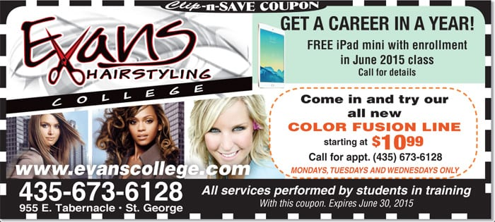 Deal of the Day: Evan's Hairstyling College - The Independent   St ...