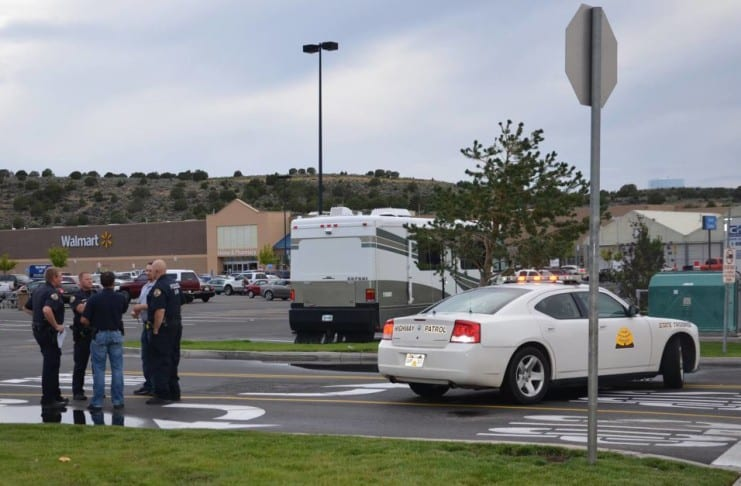 Shooting and attempted robbery at Cedar City Wal-Mart