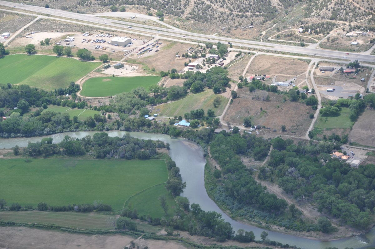 Animas River near NM & CO state line before polution arrives