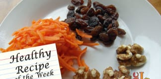 Carrot Maple Walnut Salad recipe