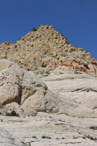 Hiking Southern Utah Whiterocks Amphitheater to Awesome Chasm