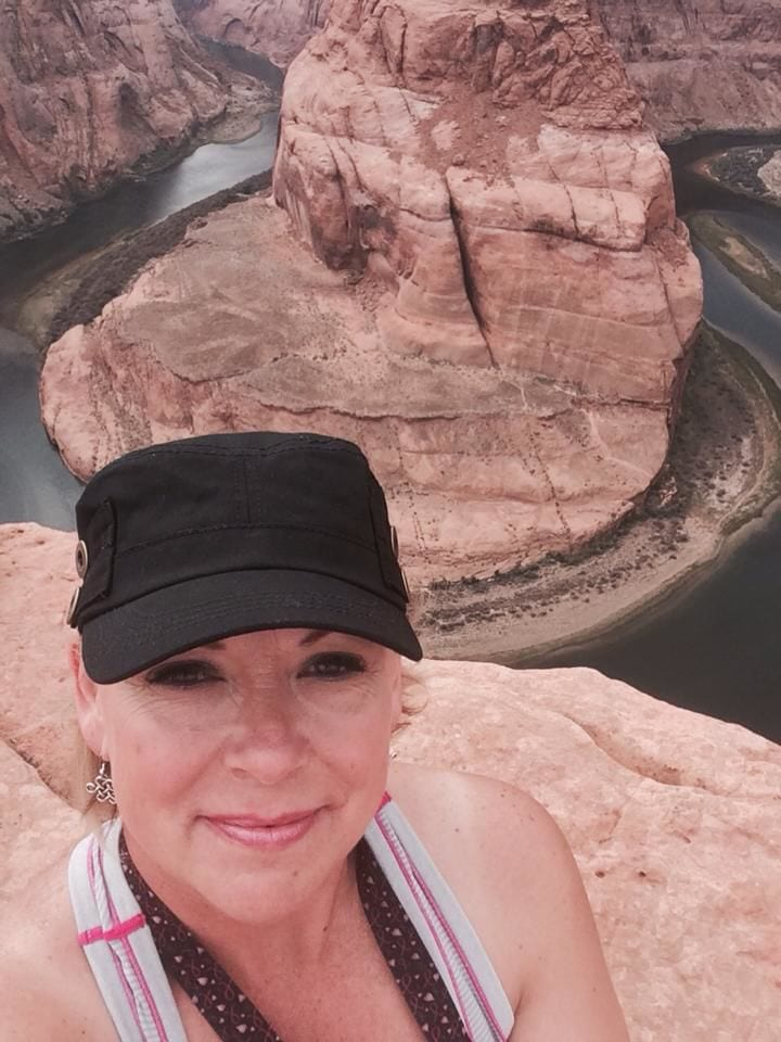 Proctor hiking near her home