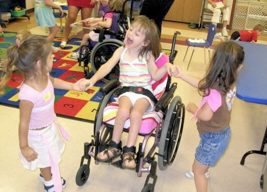 Teaching children to respect those with special needs