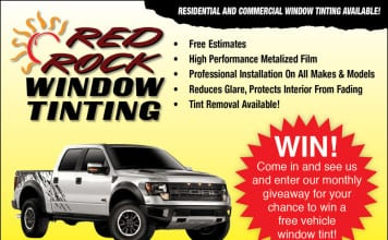 Red Rock Window TInting