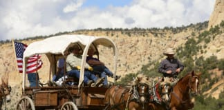 Western Legends Roundup wagon train: magic of the West