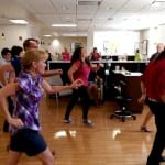 Flash mob for Linda Stay invades St. George cancer center