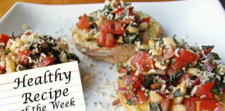 Healthy Recipe vegan Bruschetta Patatas