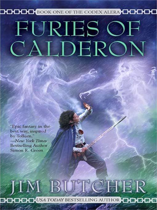 Jim Butcher Furies of Calderon book review