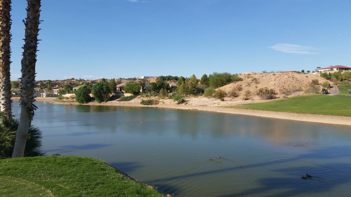 Southern Utah Mesquite golf course water