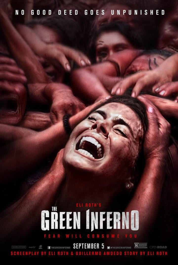 Movie Review Green Inferno Eli Roth poster