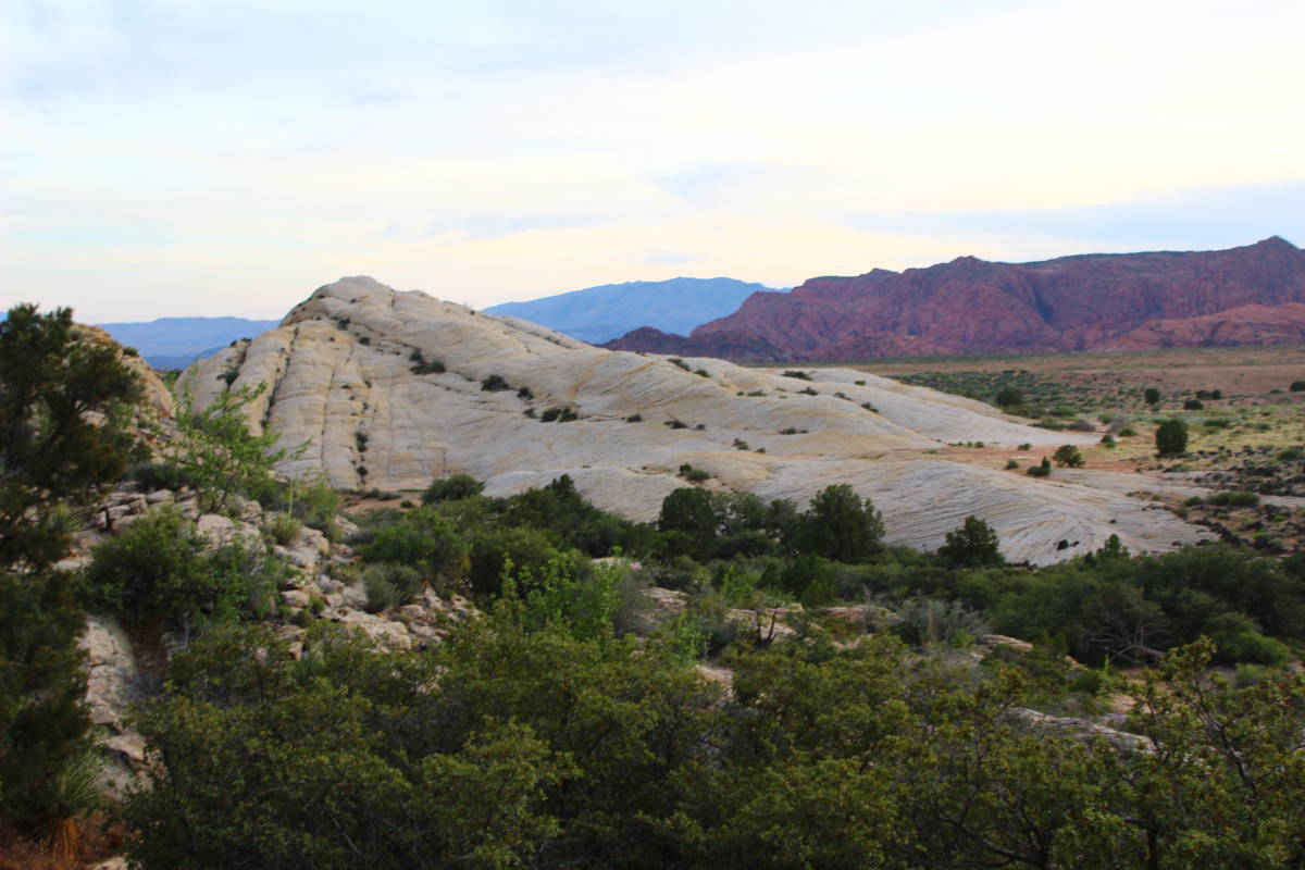 southern utah hiking winchester hills