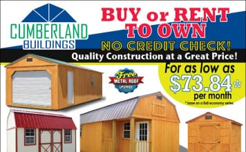 Cumberland Buildings Pre-fab Buildings Storage Sheds