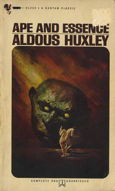 Book Review Ape And Essence By Aldous Huxley The border=
