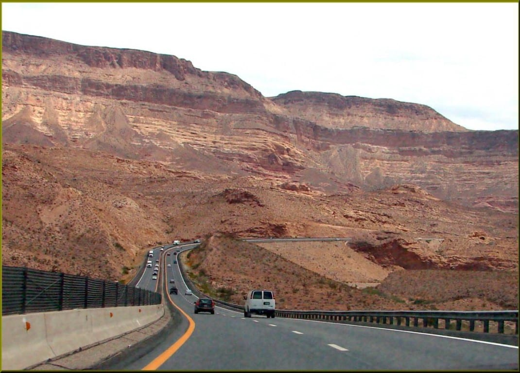 Virgin River Gorge construction delays