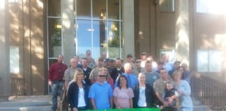Iron County Sheriff's Office Union protest