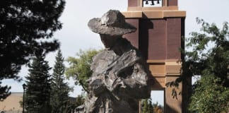 The Sower Southern Utah Museum of Art first Stillman Sculpture Grove acquisition