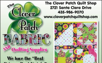 The Clover Patch Fabric and Quilting