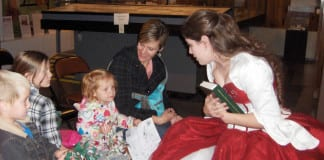 Frontier State Park Museum holiday activities