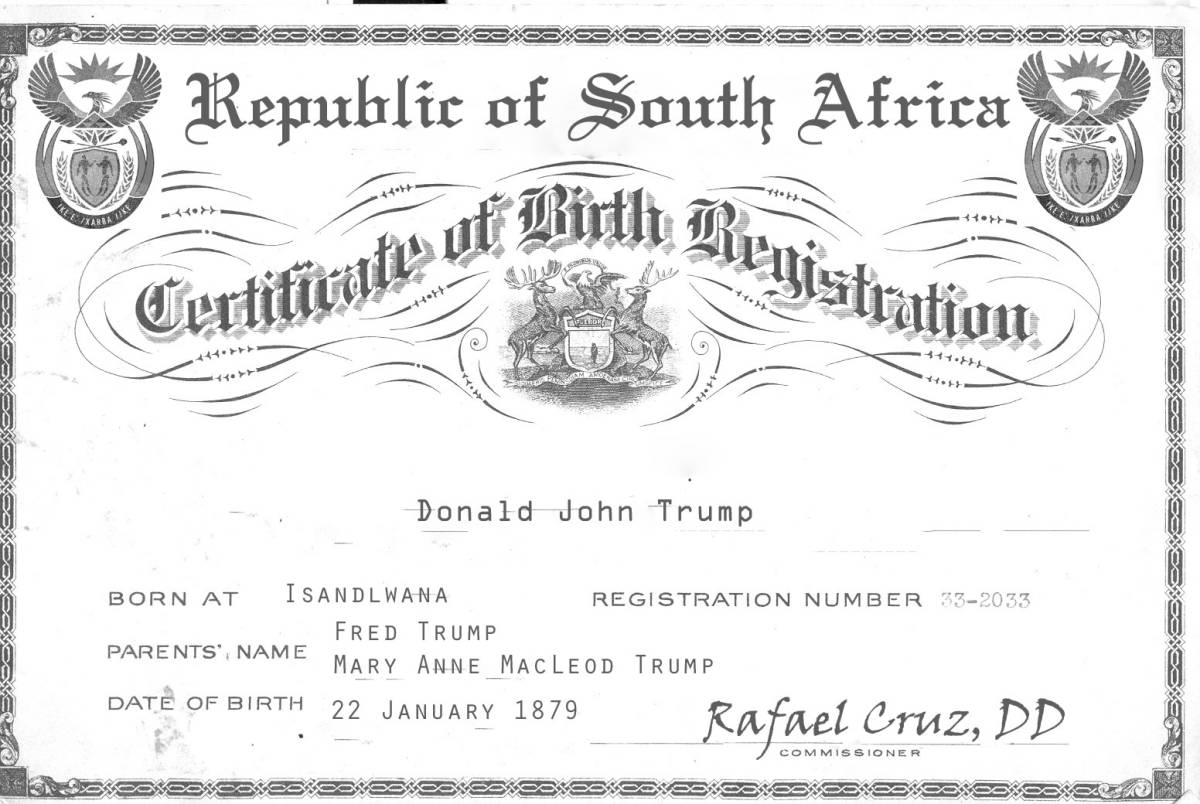 Birther Trump