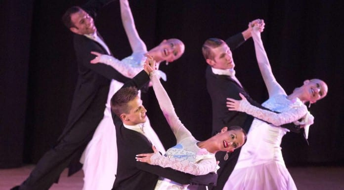 Dixie State University's Celebrity Concert series will host a performance featuring championship formation dancing and breathtaking lifts and spins, all performed in a seemingly endless stream of shimmering costumes by the BYU Ballroom Dance Company.