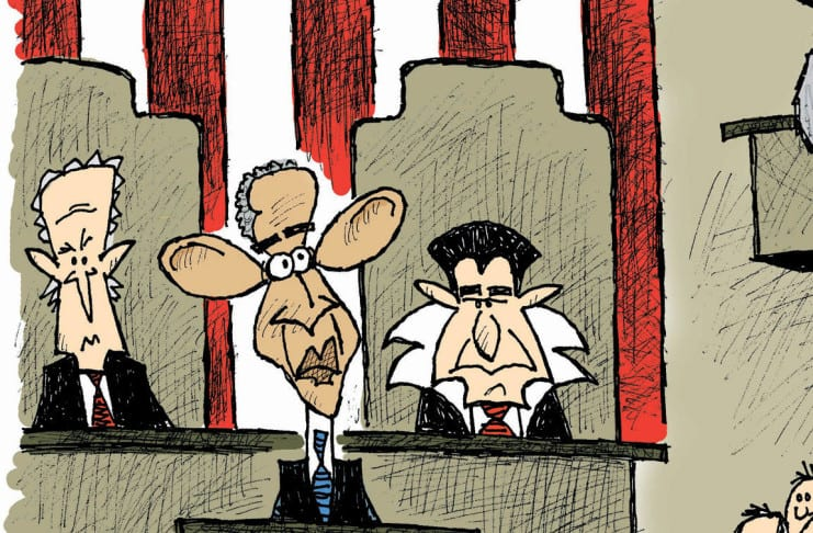 cartoon State of the Union