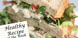 Eggless Salad Sandwich recipe