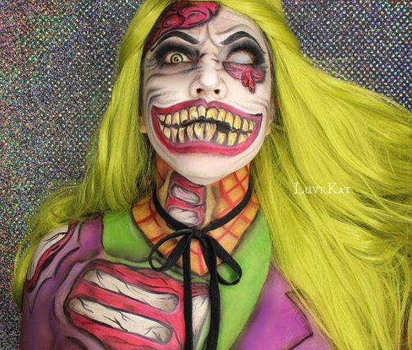superheroes makeup art