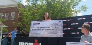 DOVE Center receives $2,500 grant from Ironman Foundation