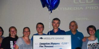 Local student Langston Navarro receives $5,000 scholarship from Mesquite Gaming