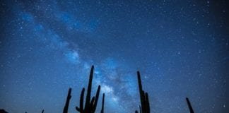 southern utah weekend events: milky-way-923738_1280