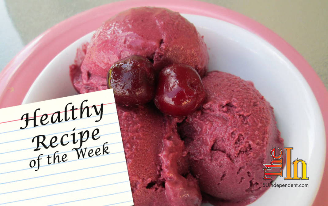 Vegan chocolate cherry ice cream recipe