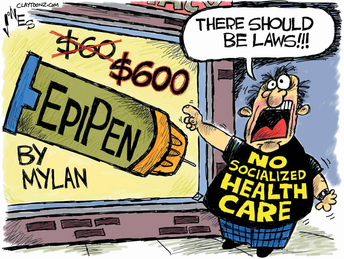 Image result for epipen cartoons