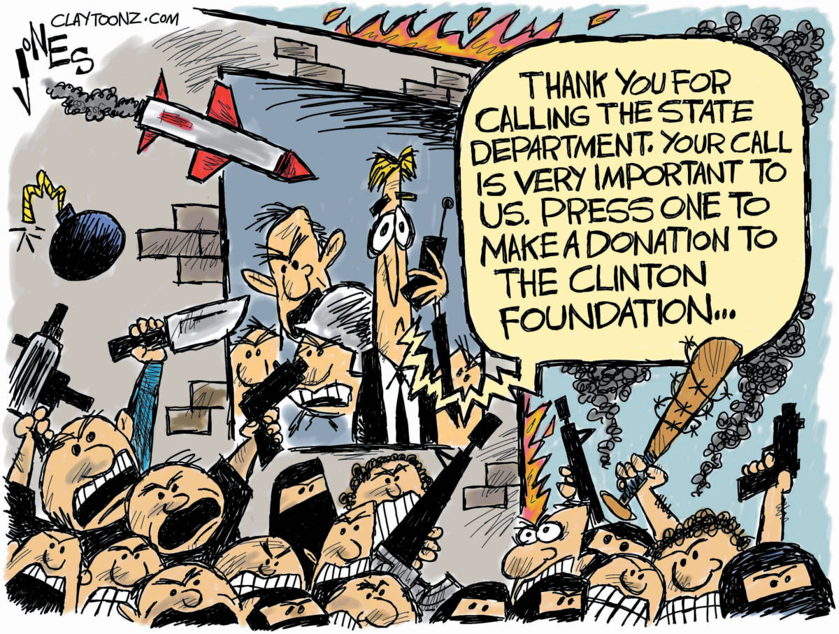Image result for clinton foundation cartoons