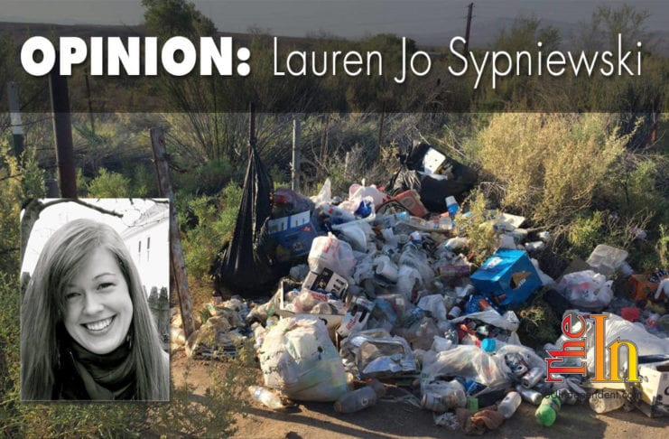 Little Jamaica, Southern Utah, St. George, trash, filth