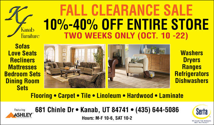 Furniture Store Kanab, Utah | Kanab Furniture | Fall ...