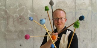 """Ron Coulter performs solo percussion and electronics concert """"Xtensions"""" at SUU Southern Utah University Cedar City"""