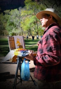 Zion National Park Plein Air Art Invitational holds Centennial Edition