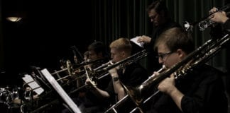 "SUU jazz band performs ""Legends In The Living Room"" concert"