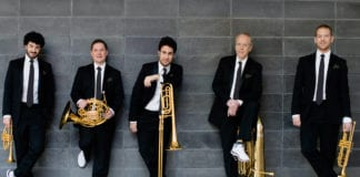 Celebrity Concert Series hosts Canadian Brass and Ryan Shupe