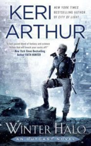 book review Winter Halo Keri Arthur