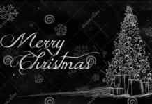 southern utah weekend events merry-christmas-tree-drawing-blackboard-greeting-card-35684548
