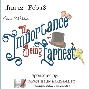 southern utah weekend events features The Importance of being Earnest