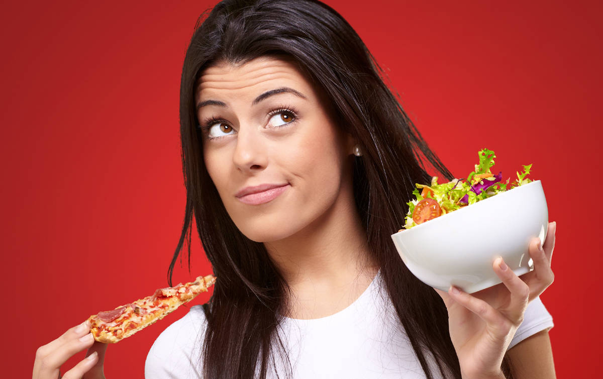 How to stop overeating when high