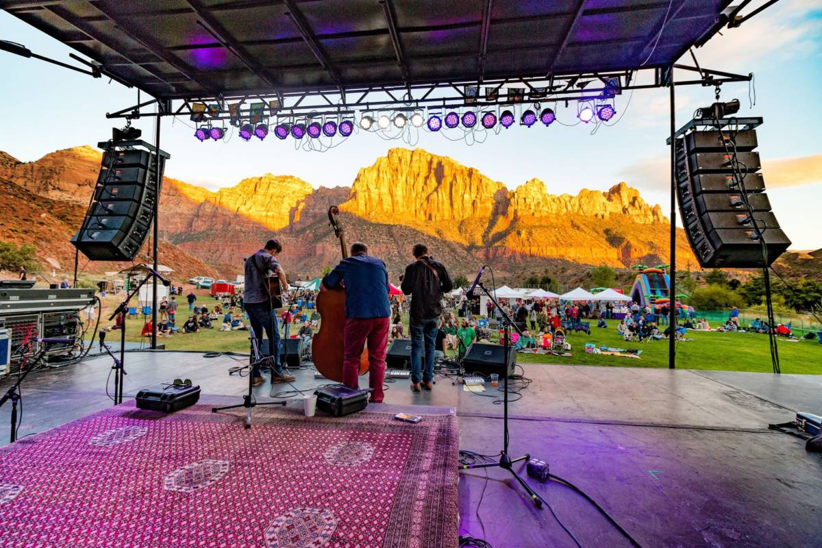 Alex Pelton and Lex De Azevedo II take over Zion Canyon Music Festival