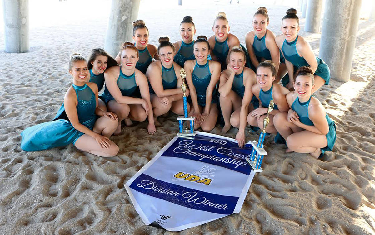 Dixie State University's dance team places first at West Coast Championship