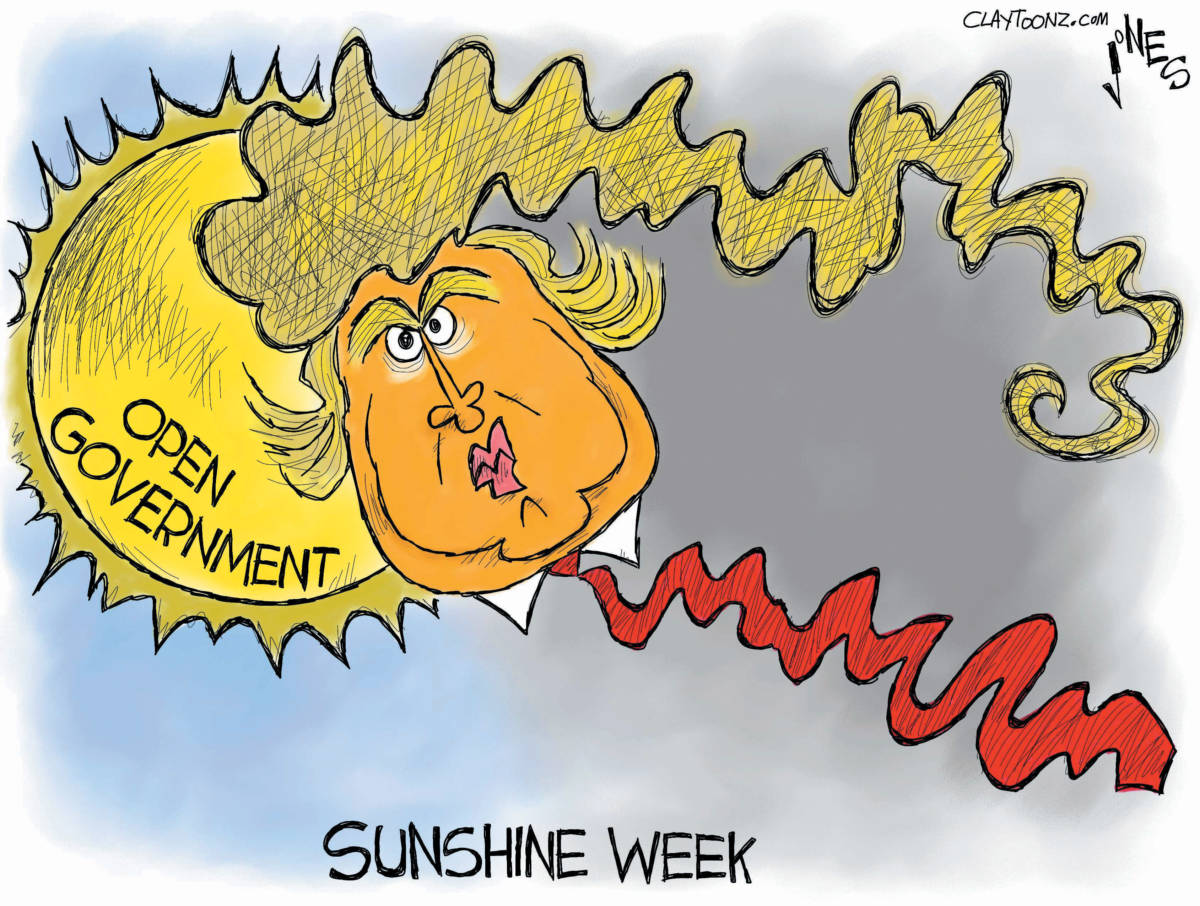 "CARTOON: ""Sunshine Week 2017"""