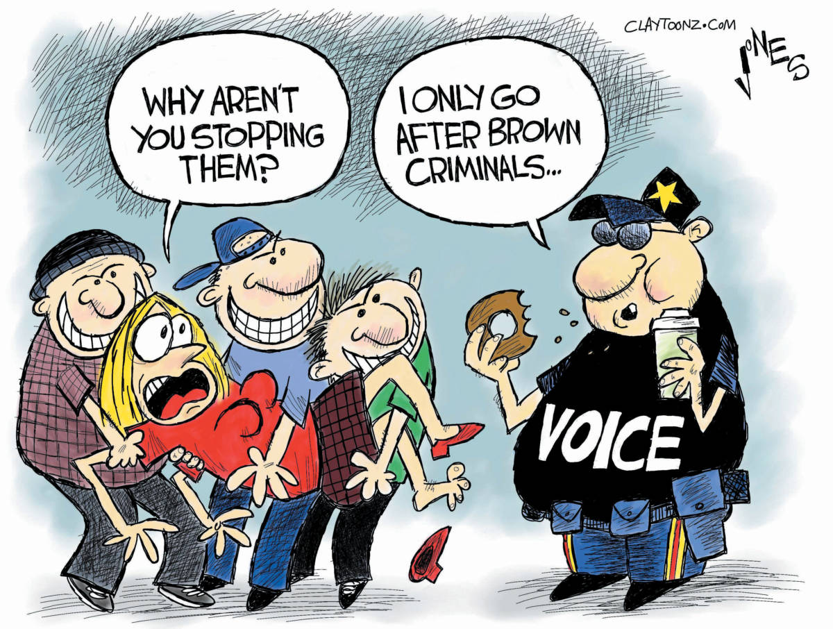"CARTOON: ""VOICE"""