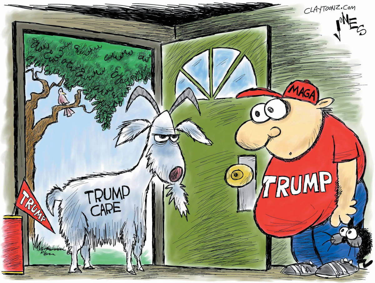 "CARTOON: ""TrumpCare"""